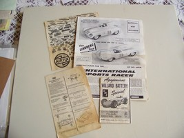 AMT Lindberg, Palmer model kit instruction papersWillard 65 Galaxie 500 ... - $6.95