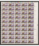 Montana Statehood Stamp 1889-1989, Sheet of 25 cent stamps, 50 stamps total - $15.00