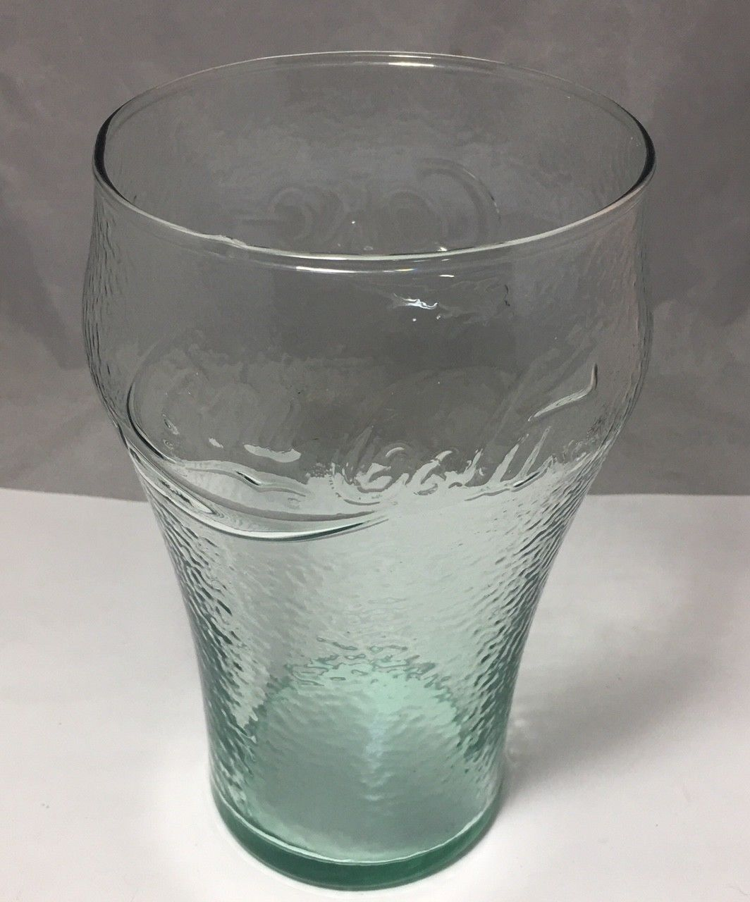 "Primary image for Coca cola 32 Oz Pebbe 6 3/4""  Green glass"