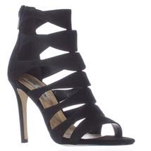 Steve Madden Swyndlee Multi Strap Dress Sandals, Black, 8 US - $44.15