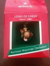 Hallmark 1989 Keepsake Miniature Ornament - $19.68