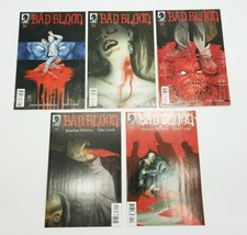 Bad Blood 1-5 Complete Set Dark Horse Comic Book Lot January 2014 Vampire Story - $29.02