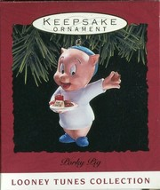 1993 - New in Box - Hallmark Christmas Keepsake Ornament - Porky Pig - $2.22
