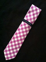 """TOMMY HILFIGER MENS NEW MULTICOLOR 100% SILK CLASSIC NECK TIE WIDTH: 3 1/8"""" - $36.47"""
