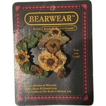 Boyds Bears Pin Bearwear Boyds And Friends Loyal Order F.O.B 1999 Bloomin' - $8.99