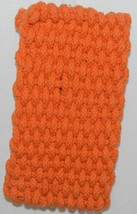 Shaggies Trivet 113333 Color Orange Handmade 100 Percent Cotton image 2