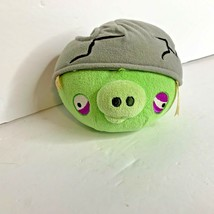 Commonwealth Angry Birds Corporal Pig Cracked Head Helmet Bag Piggies Pl... - $27.81