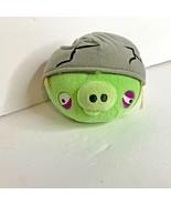 Commonwealth Angry Birds Corporal Pig Cracked Head Helmet Bag Piggies Pl... - $27.81