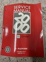 2000 Chevrolet Chevy Corvette Service Atelier Réparation Atelier Manuel ... - $48.52