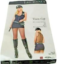 Leg Avenue Womens Sexy Vixen Cop Officer Halloween Costume Cap Belt no b... - $19.79