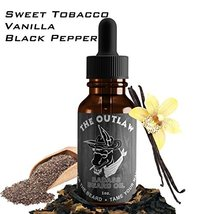 Badass Beard Care Beard Oil For Men - The Outlaw Scent, 1 oz - All Natural Ingre image 3