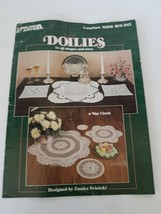 Leisure Arts Doilies In All Shapes And Sizes #529 - $8.90