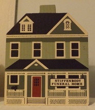 The Cats Meow 1988 Stiffenbody Funeral Home  - $8.99