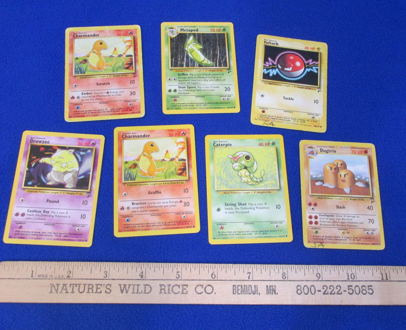Pokemon Card Game Trading Cards Deck Electrabuzz Rhydon  Mixed Lot of 15
