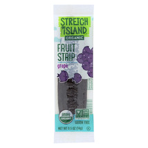 Stretch Island Organic Fruit Strips - Grape - Case of 20 - 0.5 oz. - $24.72