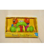 Infantino Bend & and Rattle Toy Set Plastic Worm Snake Caterpillar Frog ... - $49.49
