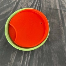 Starbucks Pearl Red Pink Green Ombre 8 Oz Red Lid - $22.95