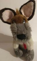 "Vtg Walt Disney Co. Dodger Dog 14"" Plush Oliver & Company Retired Bandan... - $32.00"