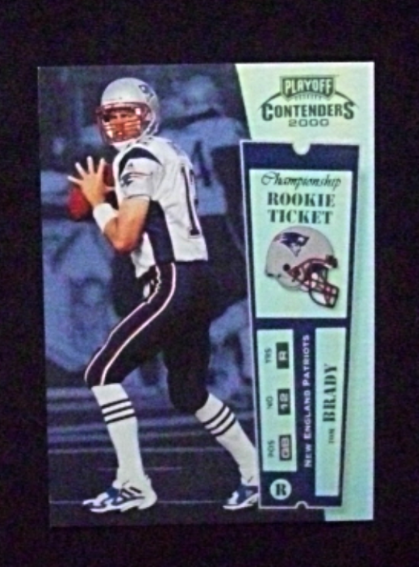 2000 Playoff Contenders Rookie Ticket #144 Tom Brady [Patriots] RC_Repro