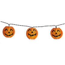 Halloween Pumpkin Lantern Lights 8 Pcs Spooky Night Light Outdoor Garden... - $20.11