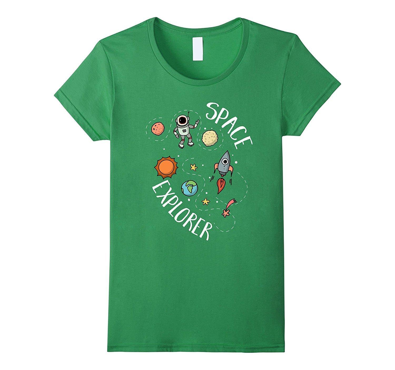 New Shirt - Outer Space Explorer T-Shirt Galaxy Tee Kids ...