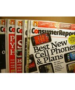 Consumer Report Lot of 12 Issues - $8.99