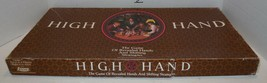 Vintage 1984 HIGH HAND Board Game E.S. Lowe Milton Bradley 100% Complete - $32.73