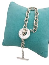 "*Tiffany & Co. Toggle bracelet 7.5""  new version with pouch - $185.00"