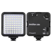 Godox LED64 LED Lamp Video Light for DSLR Camera Camcorder mini DVR Inte... - $34.98