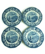 "Lot of 4 Lochs of Scotland Made in England Dinner 10"" Plate - $42.04"