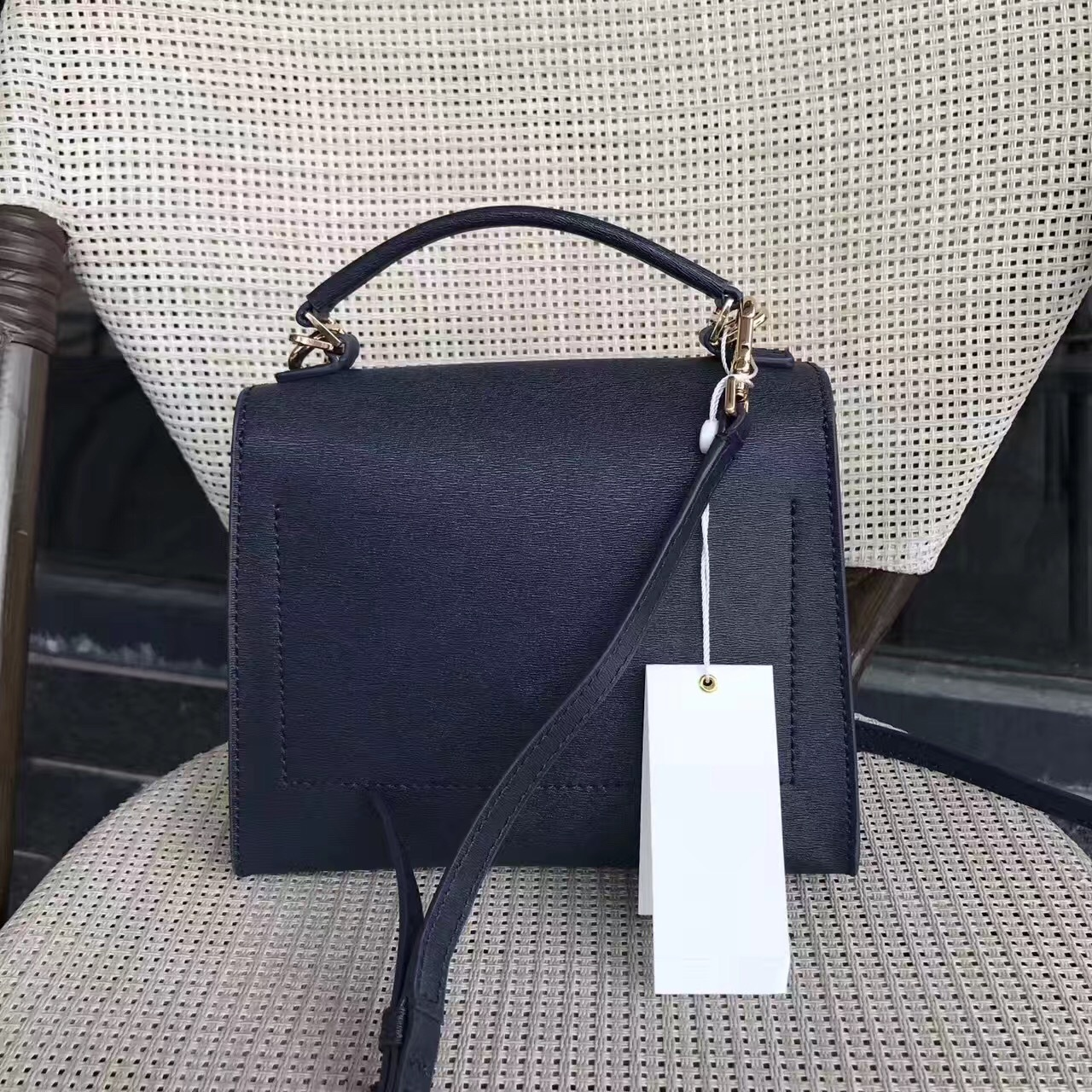 5d1a8cb32995 Tory Burch Parker Small Leather Satchel and similar items