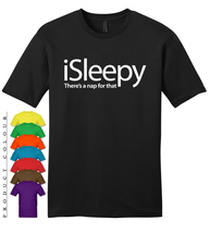 iSLEEPY THERE'S A NAP FOR THAT Mens Gildan T-Shirt New - $19.50