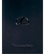 THE LEXUS STORY Leather-Bound hardcover BOOK brochure history US 2004  - $25.00