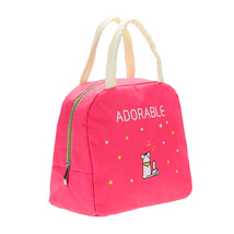 Lunch Bag kitchen organizer Oxford Cloth Cartoon Print Handy Thickness I... - $16.46 CAD