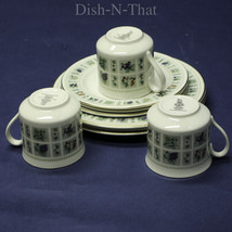 Royal Doulton Tapestry Fine China Set - 3 Cups, 3 Bread/Butter, 3 Salad ... - $37.05