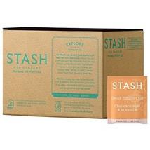 Stash Tea Decaf Vanilla Chai Black Tea 100 Count Box of Tea Bags in Foil... - $23.44