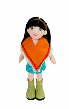 """Lilydoll Astrid Manhattan Toy Brunette 18"""" Cloth Classic Play Doll - $25.21"""