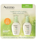 Aveeno Positively Radiant Skin Daily Moisturizer SPF 15, 4 Ounce Pack of 2 - $26.16