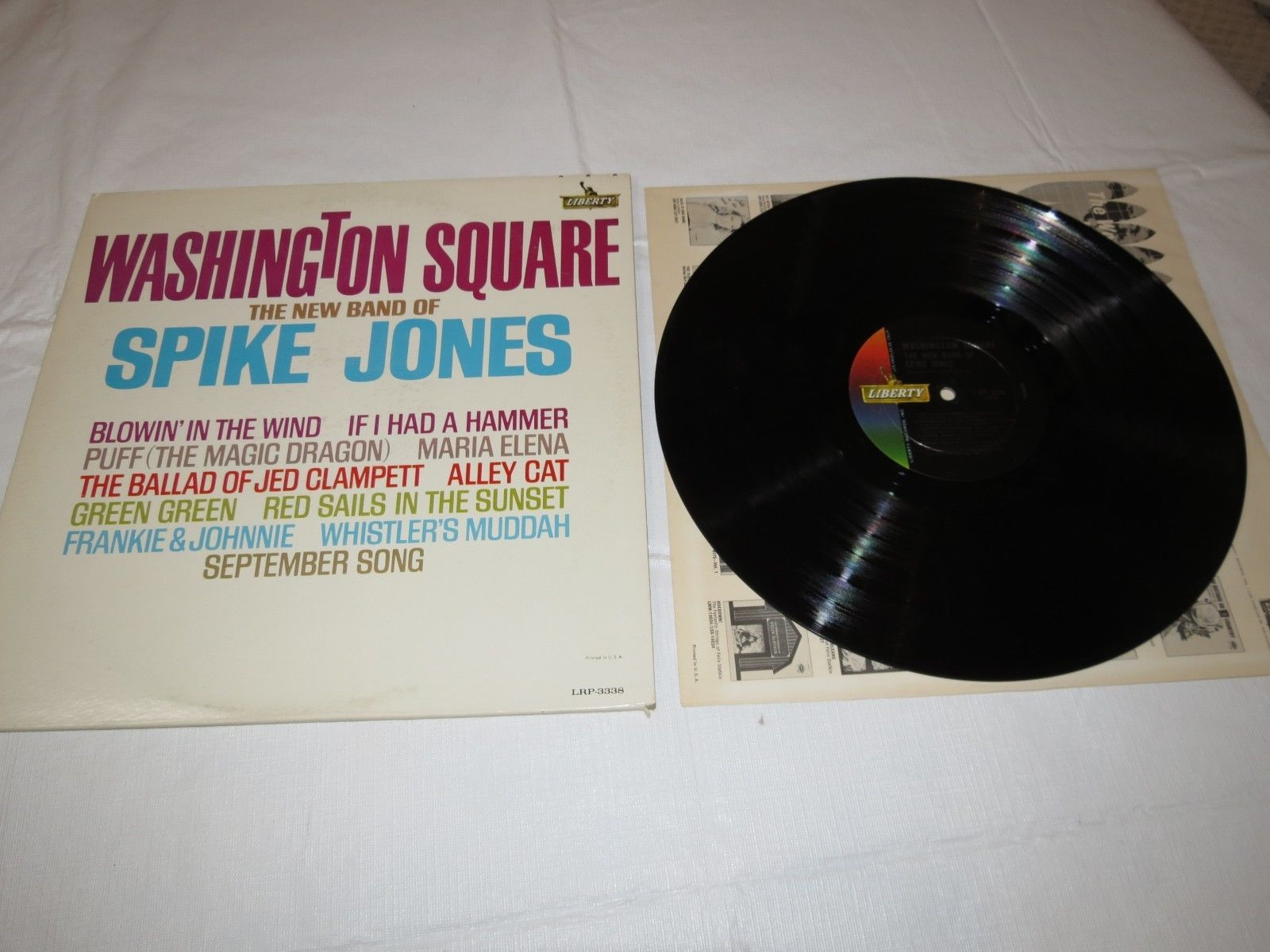 Primary image for Washington Square The New Band of Spike Jones LRP-3338 Liberty LP Album Record