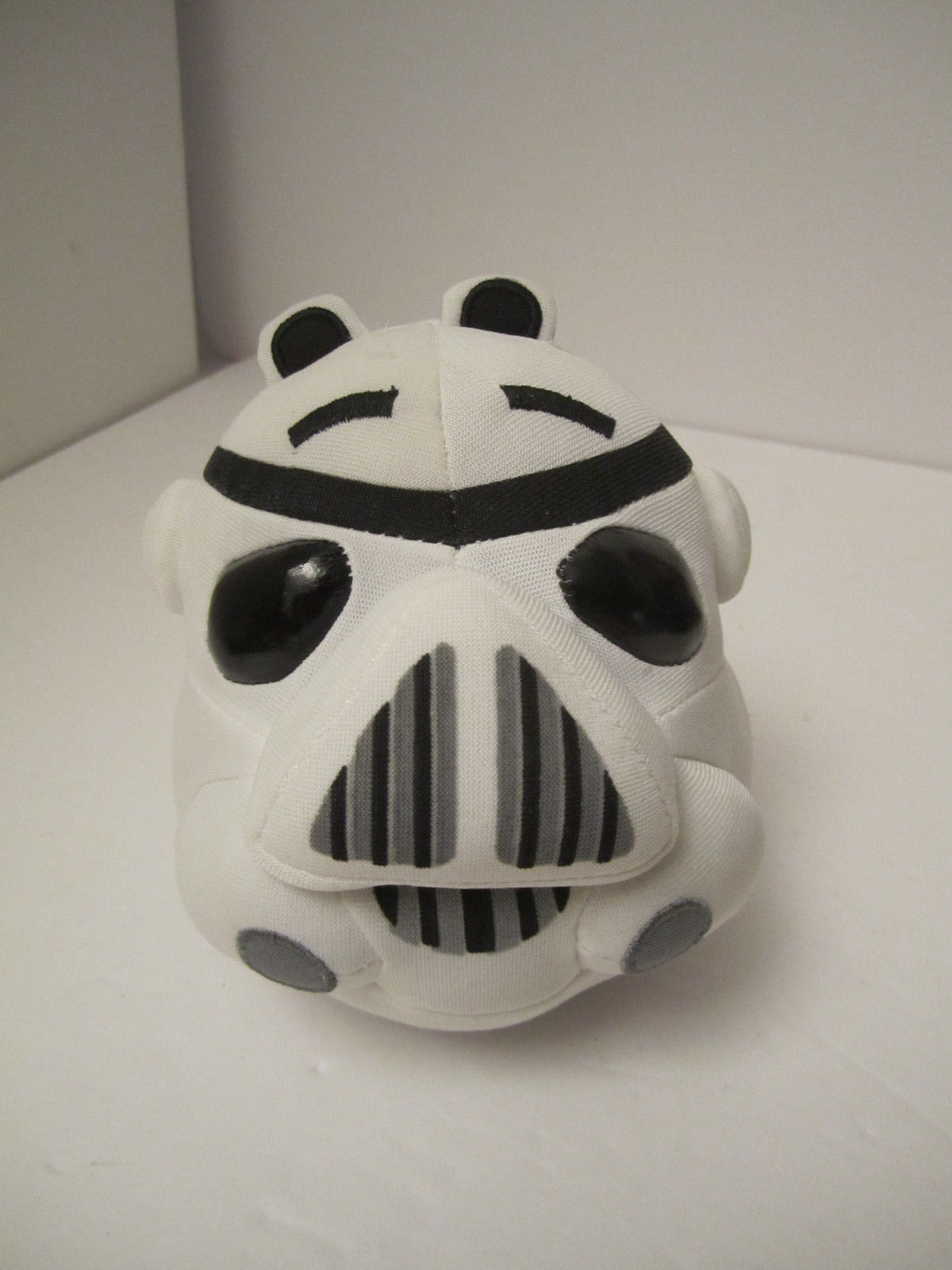 Angry Bird Star Wars Plush Stormtrooper Pig + Darth Vader Clip NM PRE-OWNED image 5