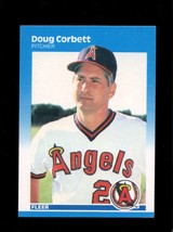 1987 FLEER #76 DOUG CORBETT EXMT ANGELS  - $1.00