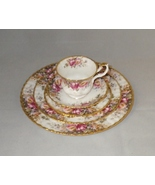 Royal Albert Autumn Roses Bone China 5 Piece Place Setting Made in England - $50.00