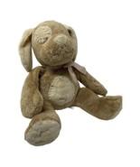 "Russ Berrie Baby Plush Mocha the Tan Puppy Dog Rattle 13"" Stuffed Animal... - $15.99"