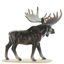 Hagen Renaker Miniature Bull Moose on Base Ceramic Figurine image 7
