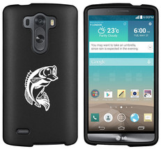 For LG G2 G3 Vigor G4 Shockproof Impact Rubber Hard Case Cover Bass Fish - $14.99