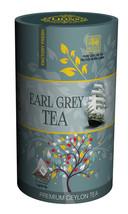 Lions Tea Earl Grey, Pure Ceylon Black Tea 15 Pyramid Tea Bags - $8.75
