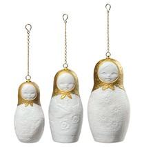 Lladro Matrioskas Christmas Ornament. Golden Lustre 01009164 - £242.59 GBP