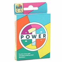POWER1 Rummy Style Family Card Game | Party Deck with Levels of Play for... - $22.80
