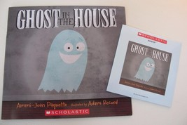 NEW Ghost in the House Ammi-Joan Paquette WITH CD SET Scholastic Paperback Book - $7.00
