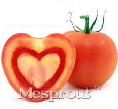 "200 pcs Super Rare Red Giant Competition Russian Heirloom "" Heart-Shaped... - $5.20"